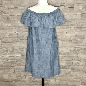 Abercrombie & Fitch off-shoulder peasant dress